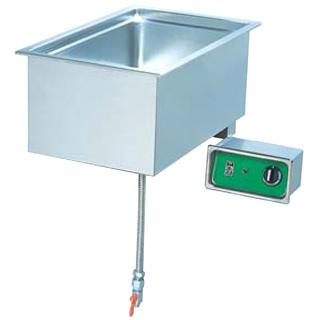 押切電機 卓上電気ウォーマー (ビルトインタイプ) OTW-B 350×550×280【 メーカー直送/後払い決済不可 】
