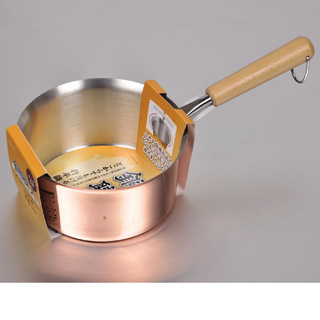 パール金属 銅職人 どこからでも注げる行平鍋14cm HB-1584