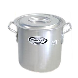 【まとめ買い10個セット品】寸胴鍋 アルミニウム(アルマイト加工) (目盛付)TKG 18cm