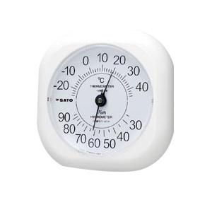 【まとめ買い10個セット品】温湿度計 ソフィア 1014-00 1個 佐藤計量器【 生活用品 家電 セレモニー アメニティ用品 温湿度計 】
