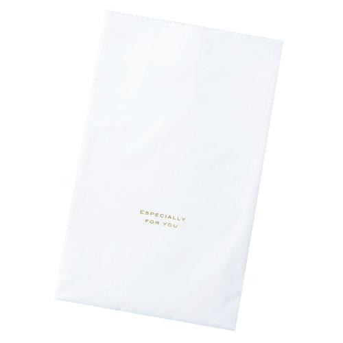 【まとめ買い10個セット品】 梨地ギフトバッグ ホワイト 20×32 50枚【店舗什器 小物 ディスプレー ギフト ラッピング 包装紙 袋 消耗品 店舗備品】