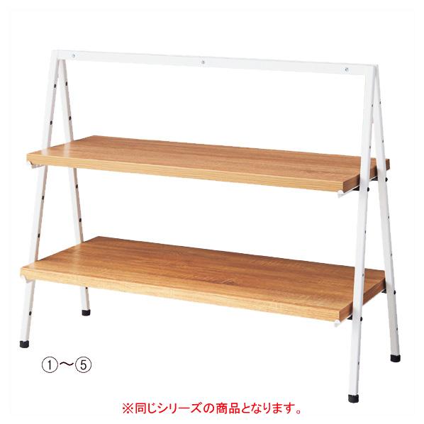 【まとめ買い10個セット品】 卓上ディスプレー 木棚セット D35cm