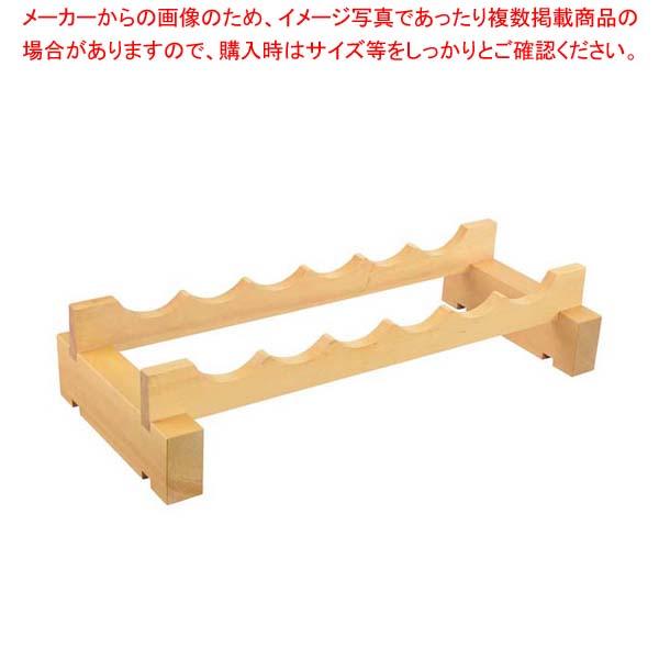 木製 ワインラックキット 6ボトル用 一段【 ワイン・バー用品 】