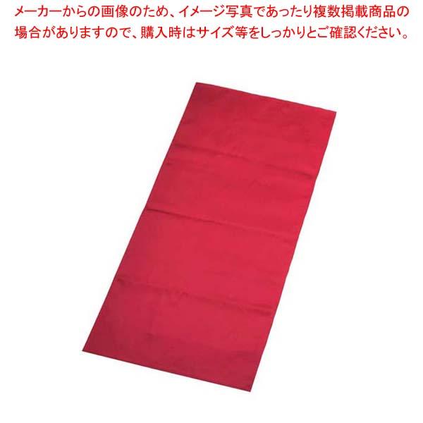【まとめ買い10個セット品】 ロングトーション ディープレッド 430×850 sale