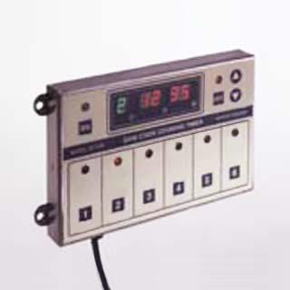 サニクック 業務用自動調理機器 6チャンネルクッキングタイマー QC206【 キッチンタイマー 】