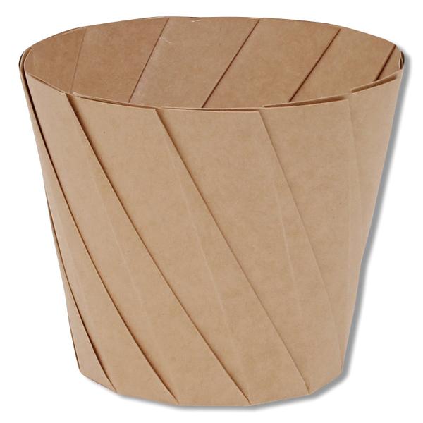 限定タイムセール smj-004739029 おりがみカップ 即日出荷 大 20個 茶