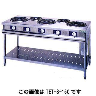 タニコー 電気テーブルレンジ TET-S-180A 【 メーカー直送/代引不可 】