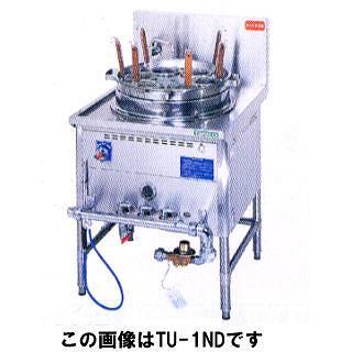 タニコー ガスゆで麺器 TU-1N 【 メーカー直送/代引不可 】