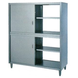 業務用両面タイプステンレス戸食器棚 CW型 CW-1875 1800×750×1800 【 メーカー直送/後払い決済不可 】