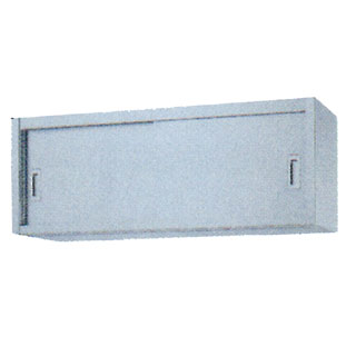 業務用ステンレス戸吊戸棚 SHS型 SHS-7530 750×300×450 【 メーカー直送/後払い決済不可 】