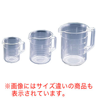 【まとめ買い10個セット品】 TPX手付ビーカー 1057 3L【 メジャーカップ 計量カップ 】