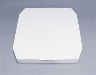 【 ピザ ピッツァ 】ピザボックス 白(100枚入) 187551 14インチ