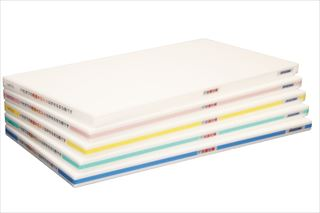 『 まな板 抗菌 業務用 』ポリエチレン・抗菌軽量おとくまな板 4層 750×350×H25mm 青