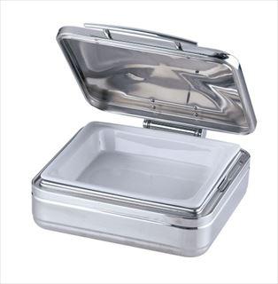 KINGO角チェーフィング 2/3サイズ J302G-T 陶器製中皿