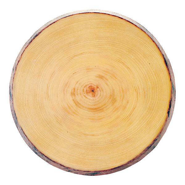 メラミン 年輪丸プレート φ456