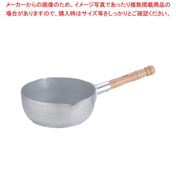 エレテック アルミ雪平鍋 21cm【 雪平鍋 IH IH対応 】
