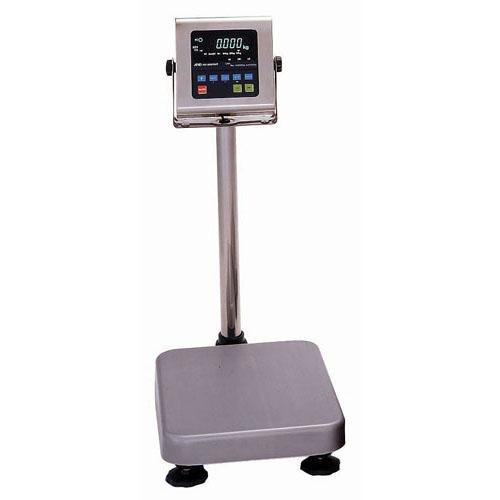 防水・防塵デジタル台秤 60kg HV-60KVWP-K【メーカー直送/代引不可】
