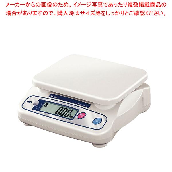A&D 上皿デジタルはかりSH 30kg SH30K