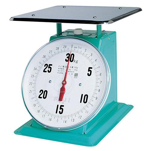 【重量計】 (平皿付) 【測量器】 【業務用】 30kg フジ 上皿自動ハカリ デカO型 【計量器】