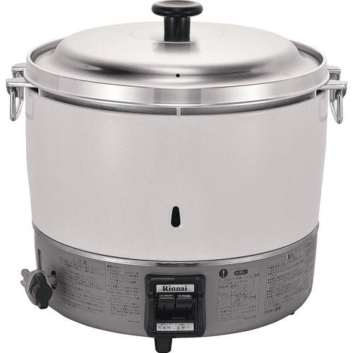 リンナイ業務用ガス炊飯器(フッ素内釜) RR-50S1-F12・13A【 メーカー直送/代金引換決済不可 】