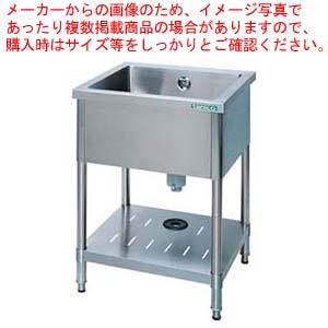 18-0一槽シンク (バックガード無) TX-1S-7545NB