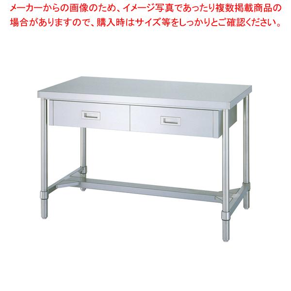 DSG2302 7-0751-0602 シンコー WDH型 WDH-12045 作業台 超歓迎された 発売モデル 片面引出付