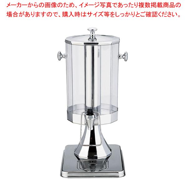KINGO 多角型ジュースディスペンサー 小 C-10401-2 6L【 ドリンクディスペンサー ジュース ディスペンサー 】