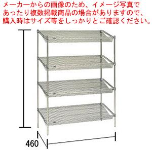 スランテッド エレクターシェルフ ST 1520×STP1900×4段【メーカー直送/代引不可】