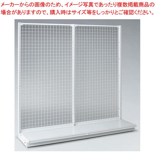 ゴンドラ什器 メッシュタイプ 片面1200用 Aタイプ【 メーカー直送/代引不可 】