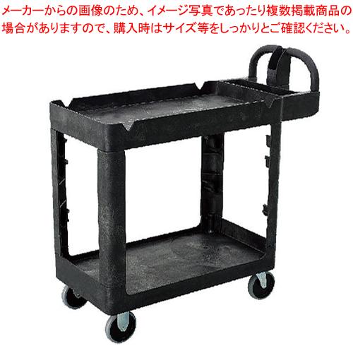 トラスト シェルフユーティリティーカート 2段 4044 ブラック