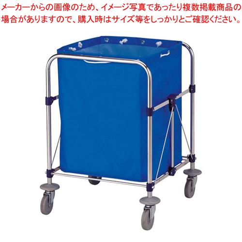 リサイクルカート Y-2 小 ブルー【 メーカー直送/代引不可 業務用 清掃用ワゴン ダストカー ダストボックス ゴミ箱 名調 】