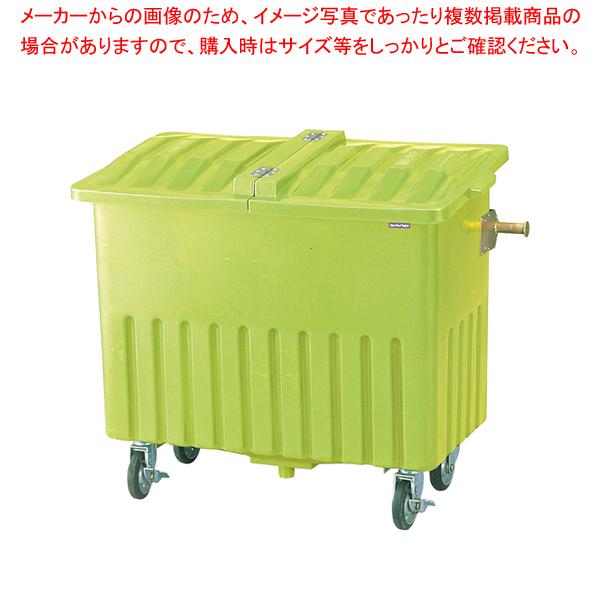 エコカート P600 蓋付【 メーカー直送/代引不可 】