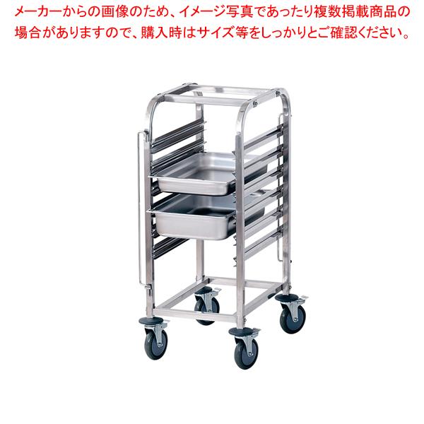 フードパントローリー シングルコラム ST-5201【 ホテルパン 台車 運搬車 カート 】