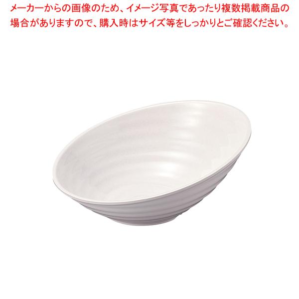 メラミン ロクロ目ハス切盛鉢 大 46cm