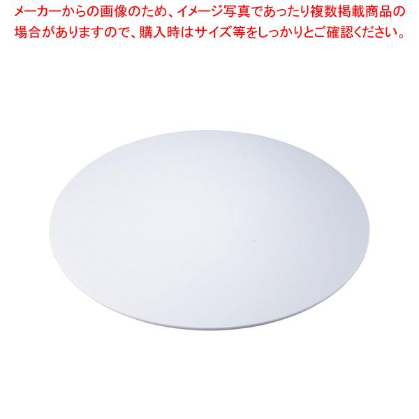 アクリルブッフェトレイ 丸ホワイト W0067 L【食器 トレー トレイ 盆 飾り台 ショープレート 】