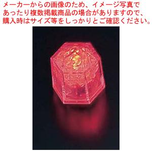 ライトキューブ・クリスタル 標準輝度 (24個入) レッド【 ウエディングキャンドル関連品 】 【 アロマ 癒しグッズ 関連 】