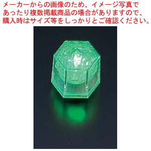ライトキューブ・クリスタル 高輝度 (24個入) グリーン【 ウエディングキャンドル関連品 】 【 アロマ 癒しグッズ 関連 】