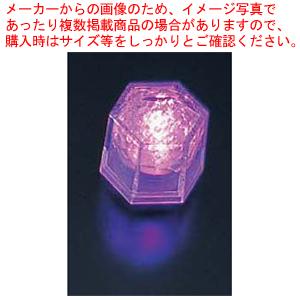ライトキューブ・クリスタル 高輝度 (24個入) パープル【 ウエディングキャンドル関連品 】 【 アロマ 癒しグッズ 関連 】