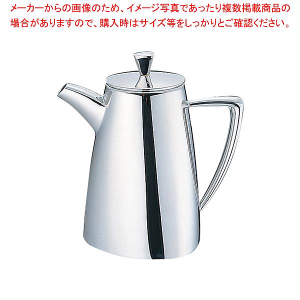 UK18-8トライアングルシリーズ コーヒーポット 5人用【 コーヒーポット 】