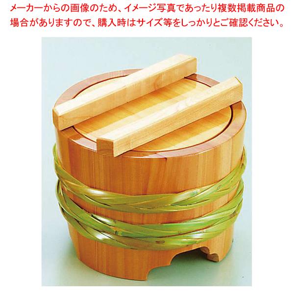サワラ 釜揚桶 (小)【 料理演出用品 そば うどん用品 盛桶 】