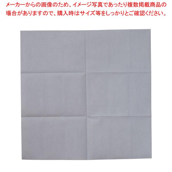 テーブルクロス カスタムZ 100cm角 (100枚入) グレー【 家具 テーブル用品 】