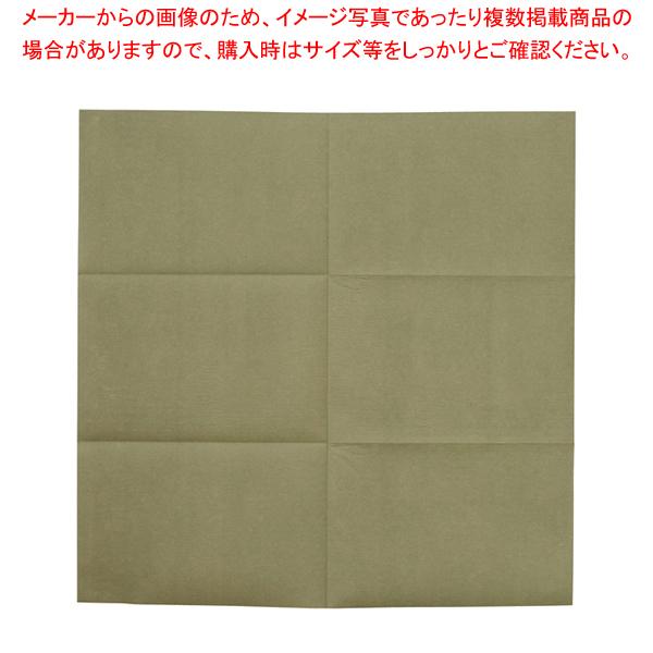 テーブルクロス カスタムZ 100cm角 (100枚入) モスグリーン【 家具 テーブル用品 】