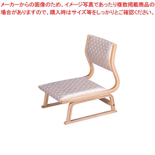 高座いす 座楽白木 布張 R-33-09【 メーカー直送/代引不可 】