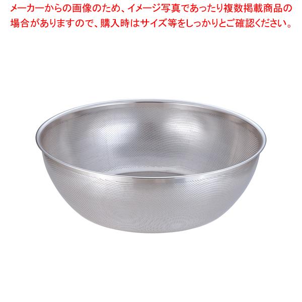 18-8 HACCPパンチング浅型ざる 60cm