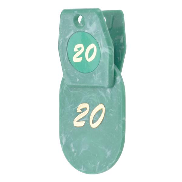 tmy-22403xxx マーブルクロークチケット 1~50 グリーン 品質保証 完全送料無料