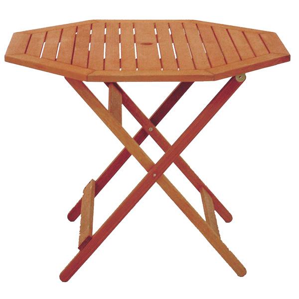 フォールディング八角テーブル