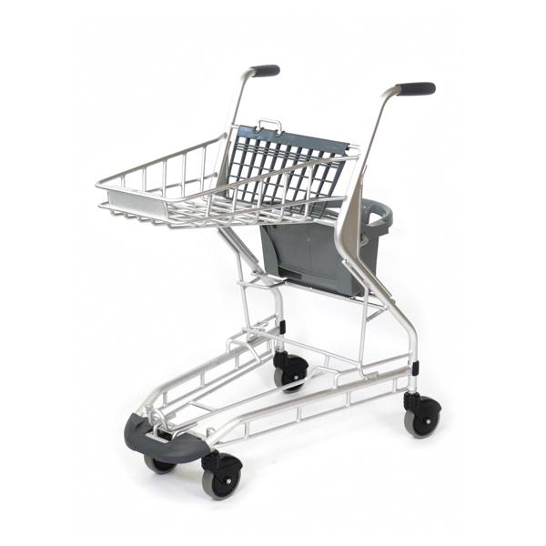 アルミ製軽量子乗せカート