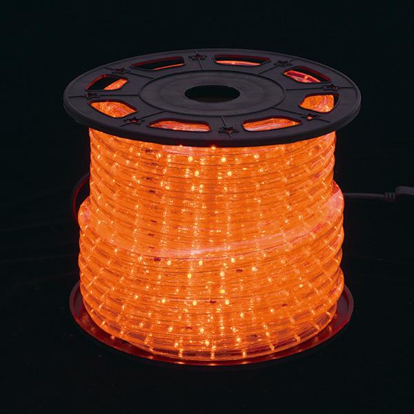 新360°発光ロープライトII オレンジ
