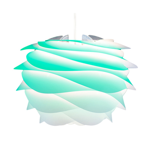 ヴィータ CARMINA mini ペンダントライト 1灯 ターコイズ コード/ホワイト 02059-WH VITA