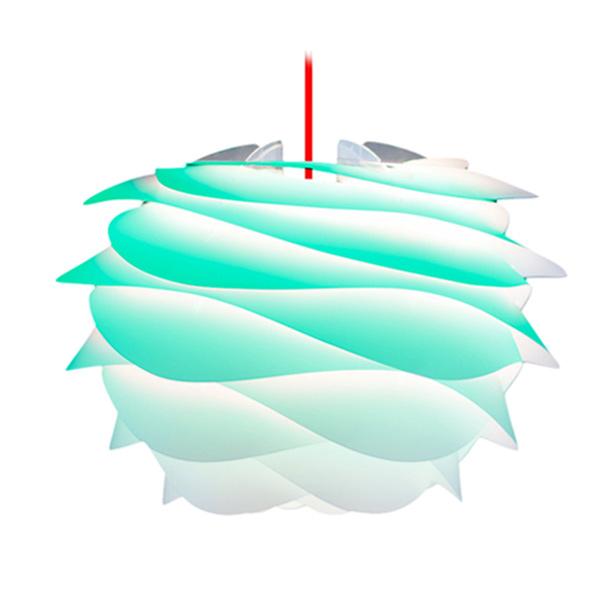 ヴィータ CARMINA mini ペンダントライト 1灯 ターコイズ コード/レッド 02059-RD VITA